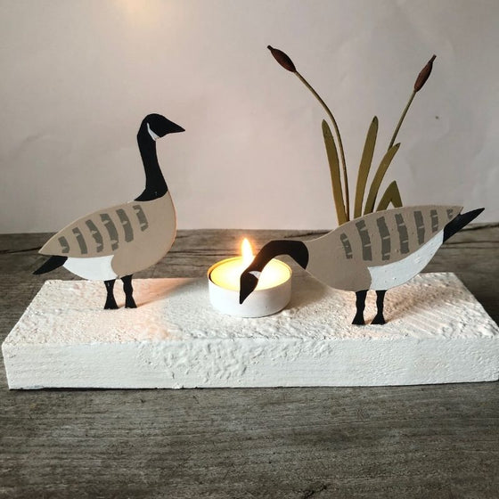 Canada Geese Votive