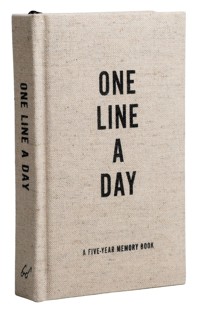 One line a day Canvas five year diary