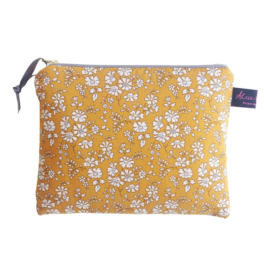 Small Liberty Purse in Capel Mustard