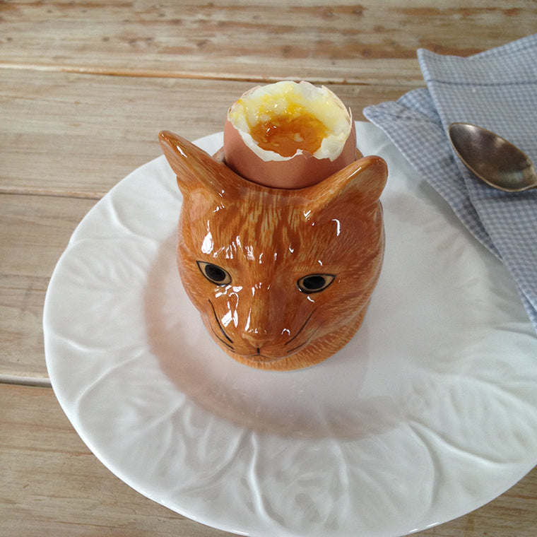 Cat Egg Cup -ceramic