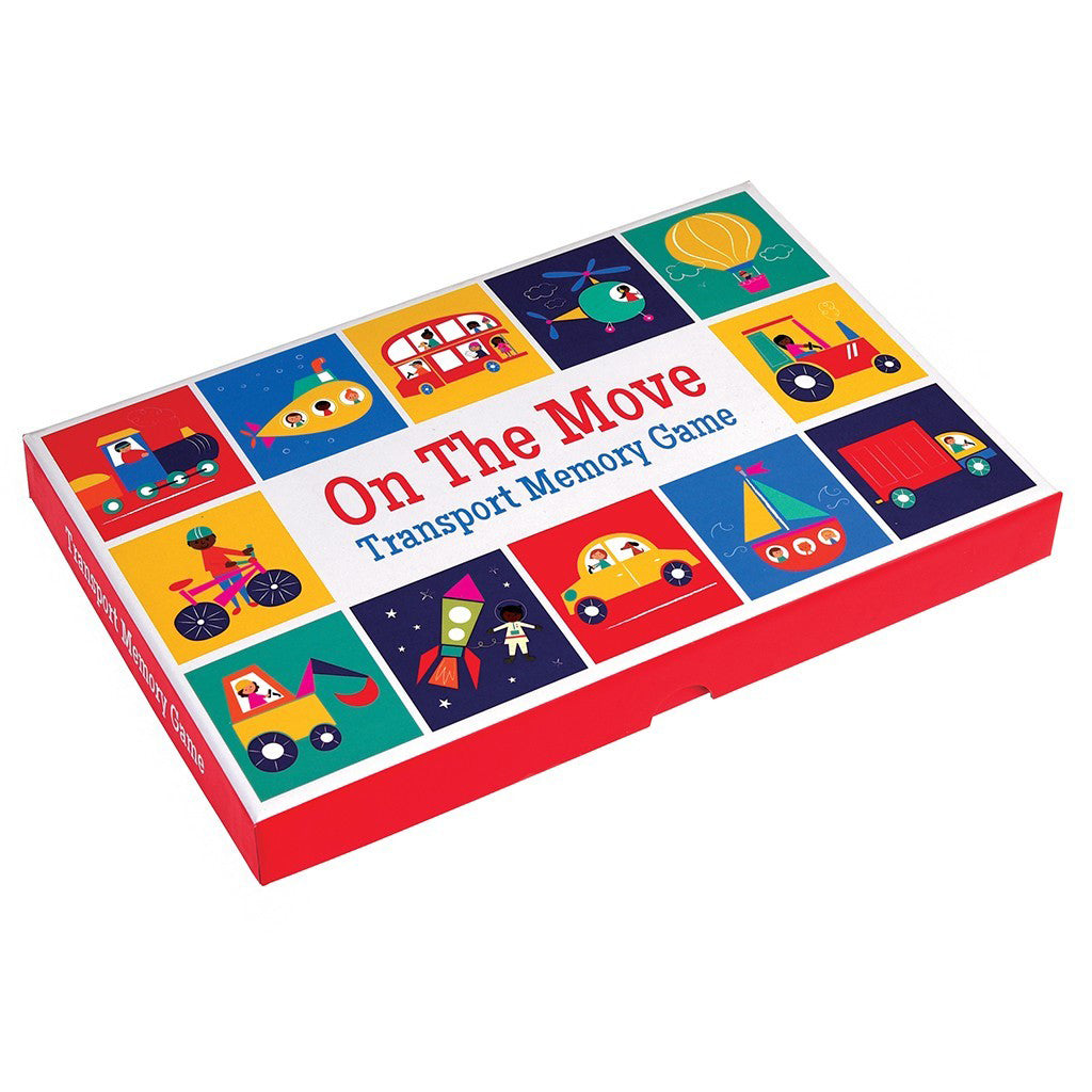 Transport memory game for kids