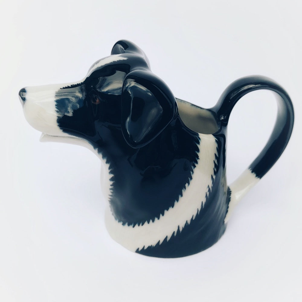 Border Collie Dog Jug- medium