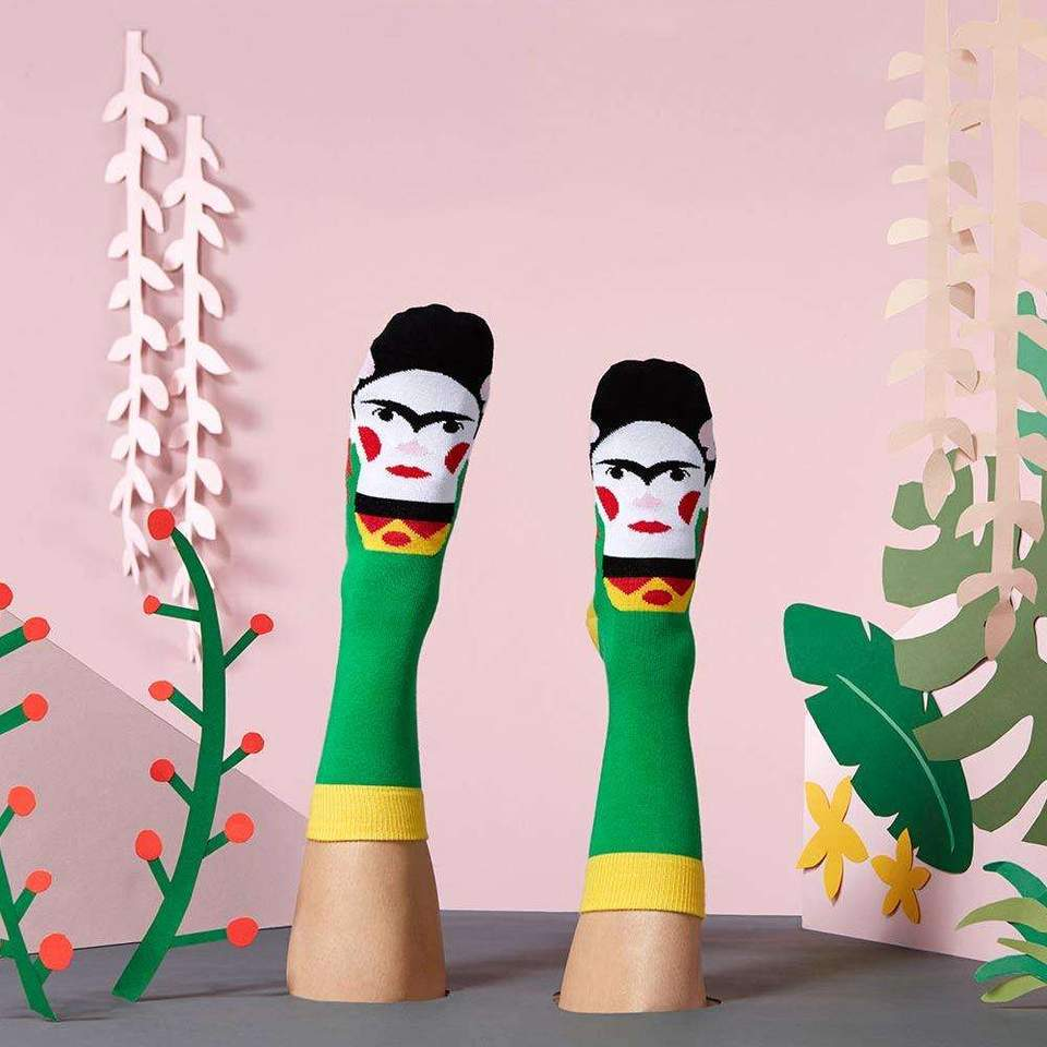 Frida - Fun socks for art lovers