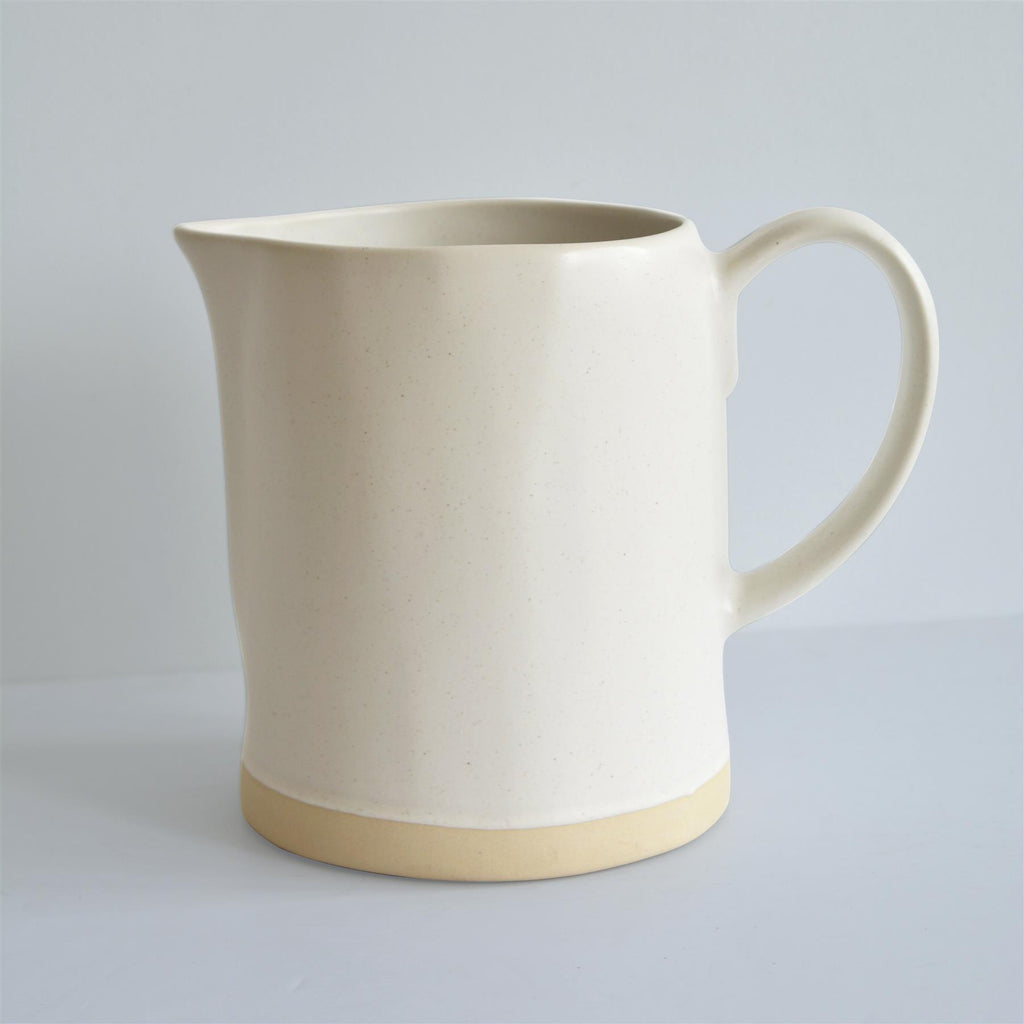 Hand made Jug- White