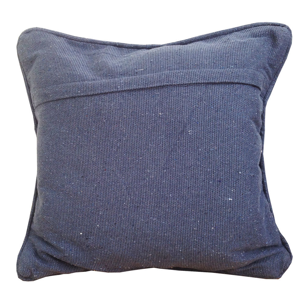 Denim cotton cushion back Large