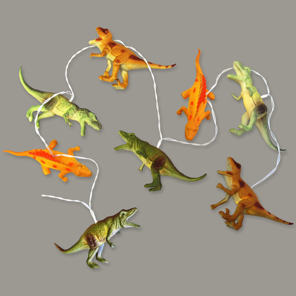 Dinosaur String Lights- Natural