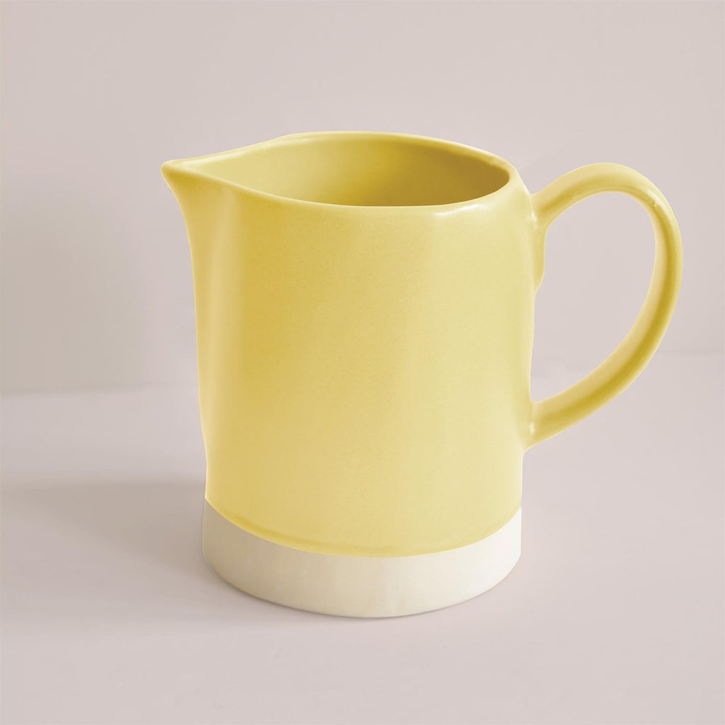 Hand Made Jug- Grapefruit Yellow