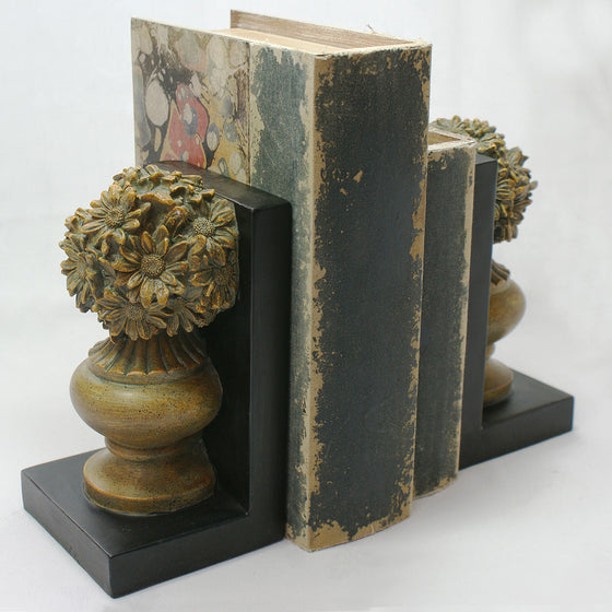Classic Antique style decorative Bookends