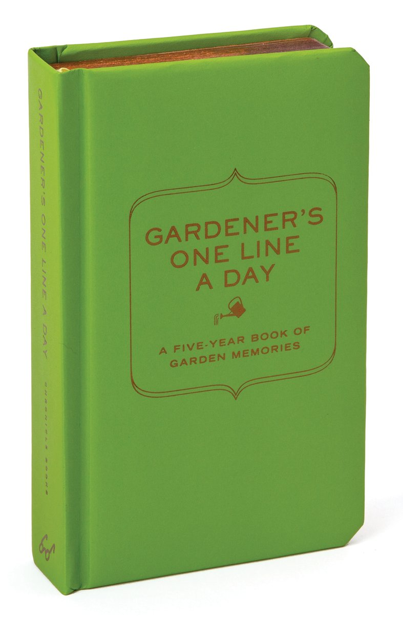 Gardeners One Line a Day Journal
