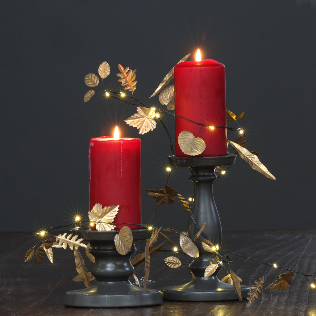 Gold Leaves -Decorative home lighting- Red Hen Trading