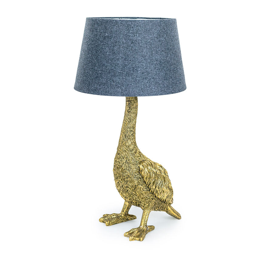 Antique Gold Goose Table Lamp