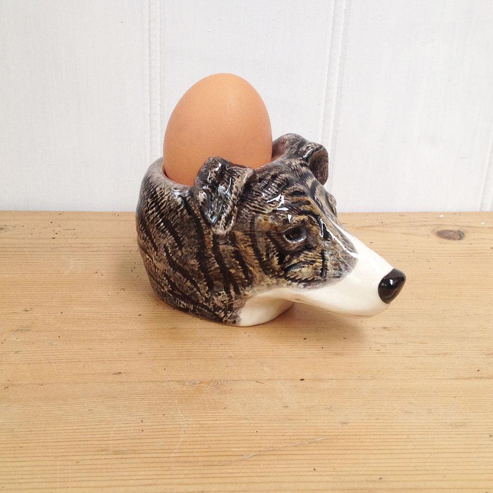 Greyhound Egg Cup- Quail
