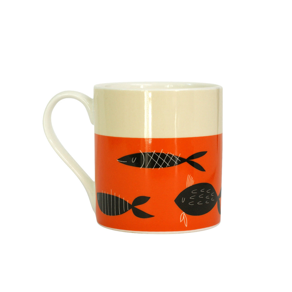 Happiness Fishing Mug