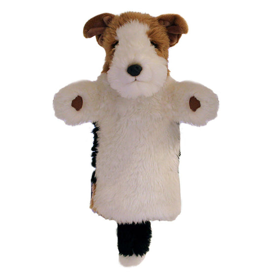 Fox Terrier Dog Glove Puppet