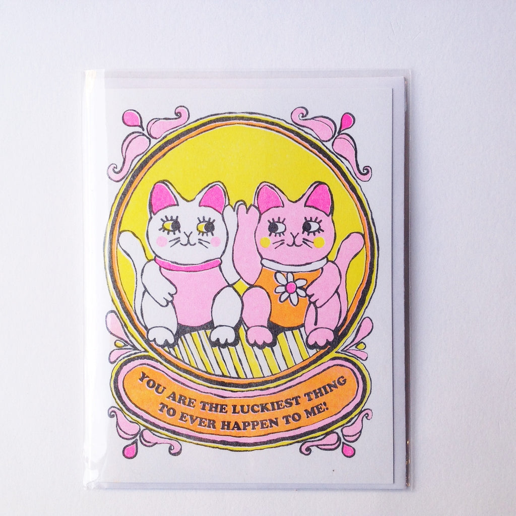 Lucky Cats Card