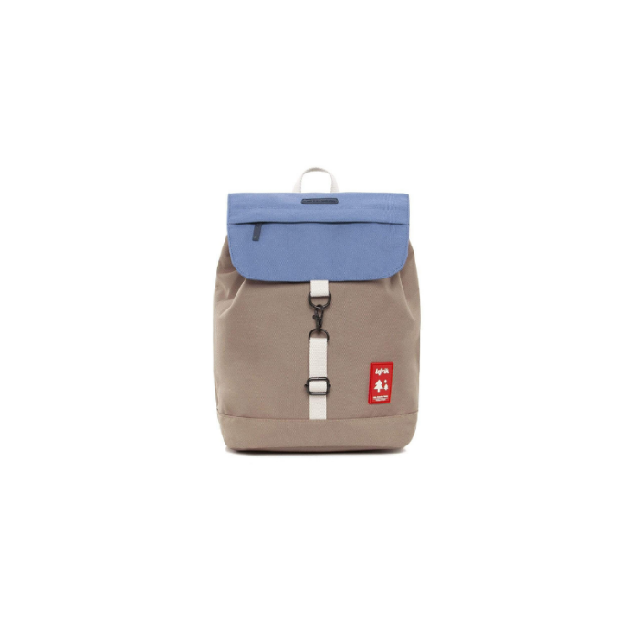 Mini Backpack in Blue/Earth