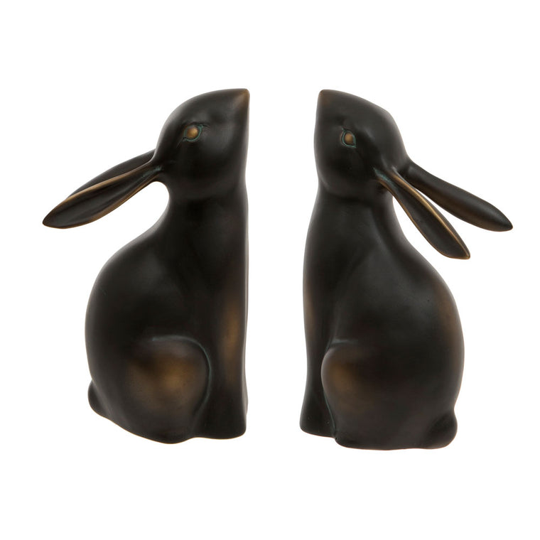 Unusual Rabbit Bookends Uk
