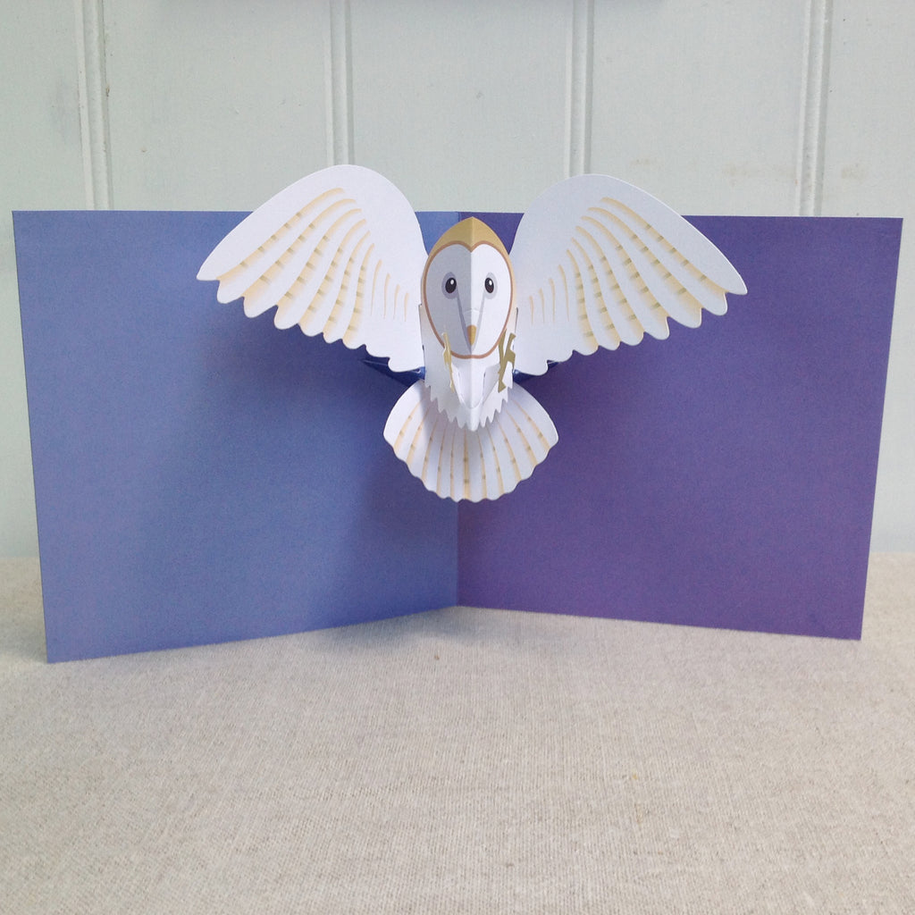 Owl 3D Pop Up card