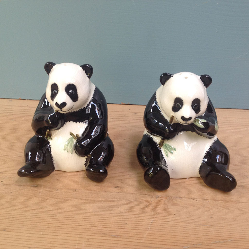 Panda Salt and Pepper shakers