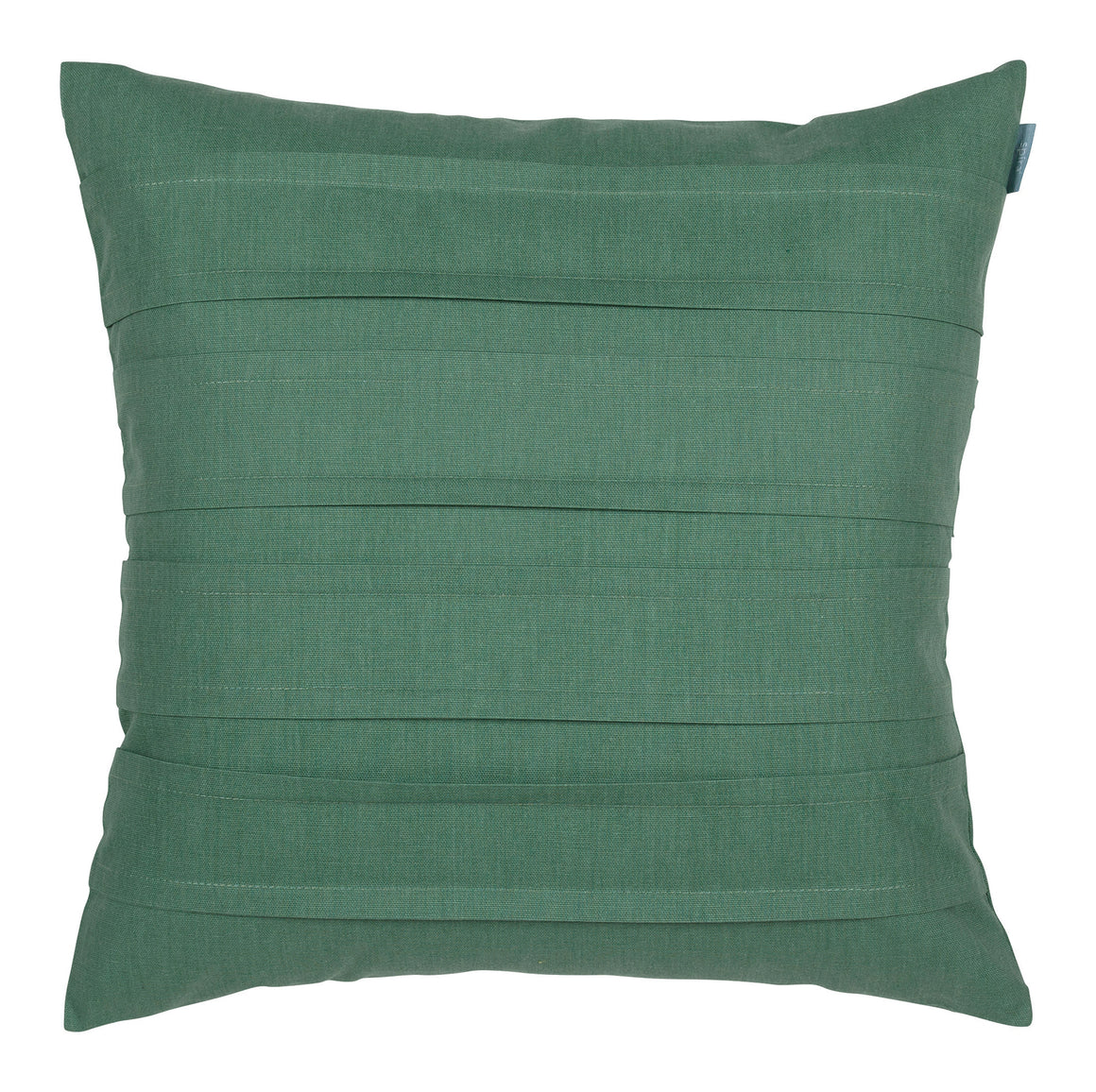 Spira of Sweden Green Pleated Cushion