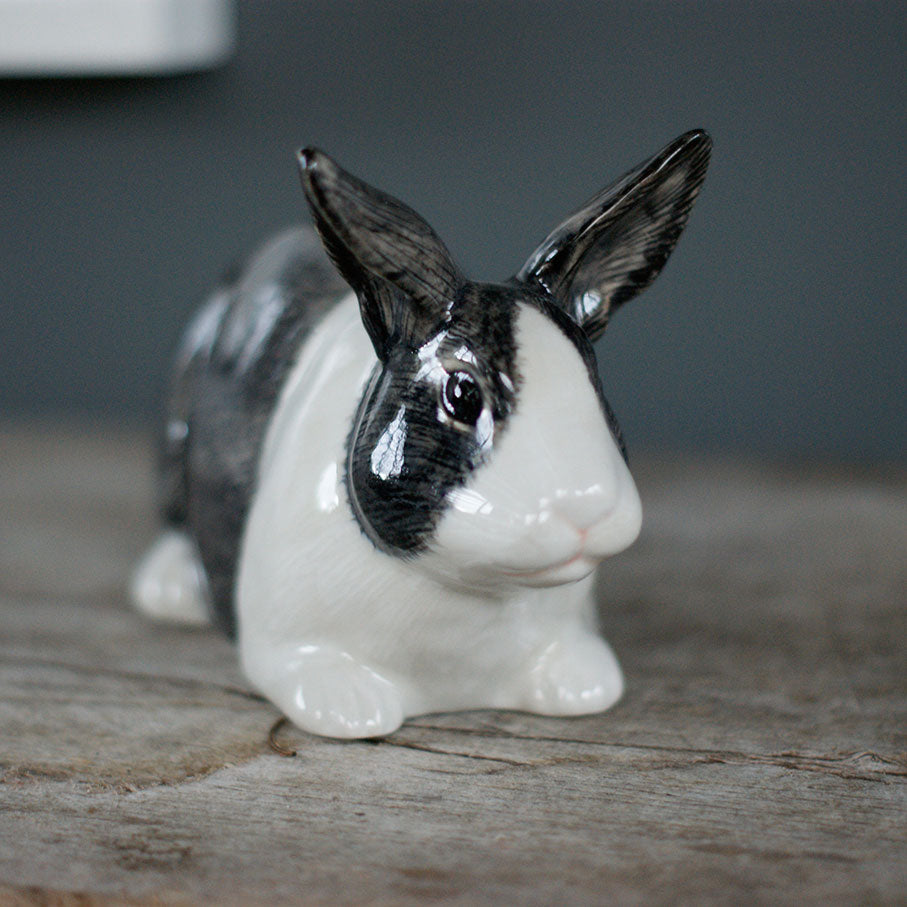Ceramic Rabbit Money Box- Dutch
