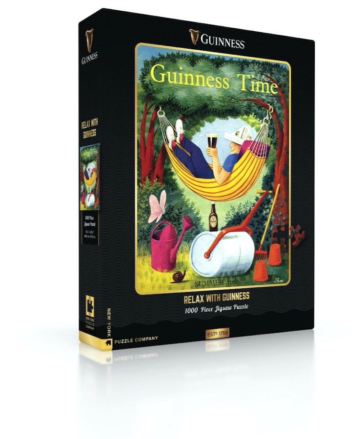 Relax with Guiness - Jigsaw Puzzle
