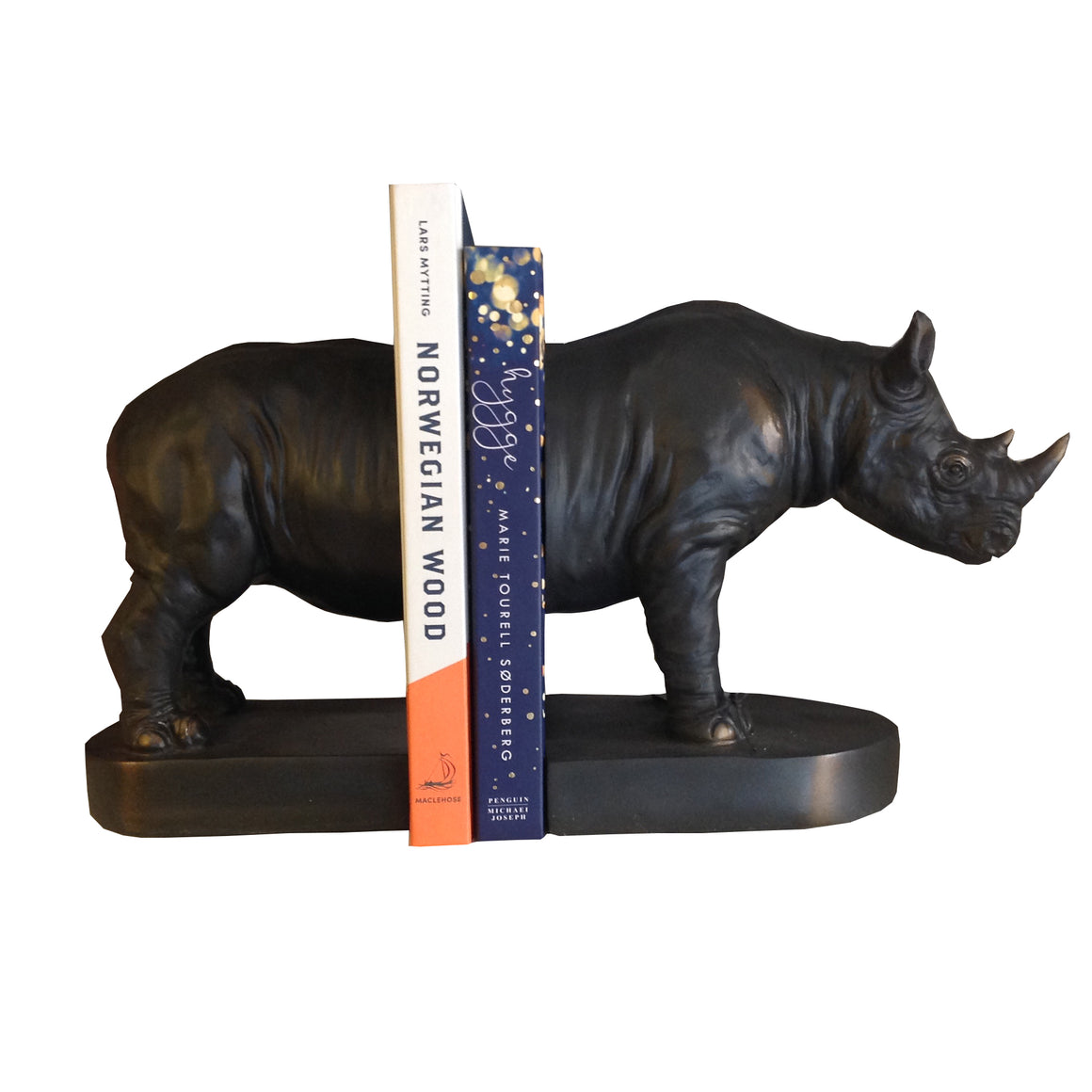 Rhino Bookends Gift