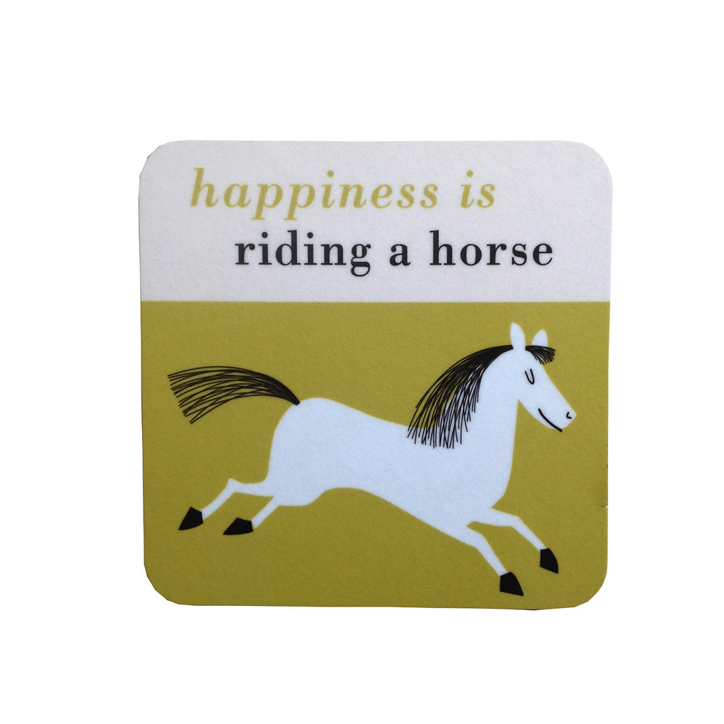 Happiness is Riding A Horse Coaster- gift