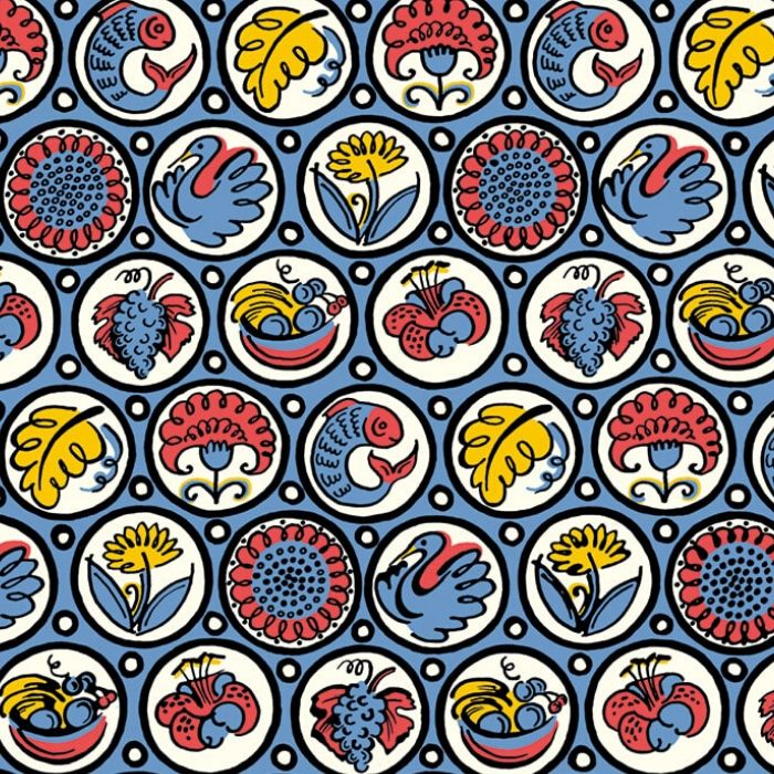 Roundels Wrapping Paper
