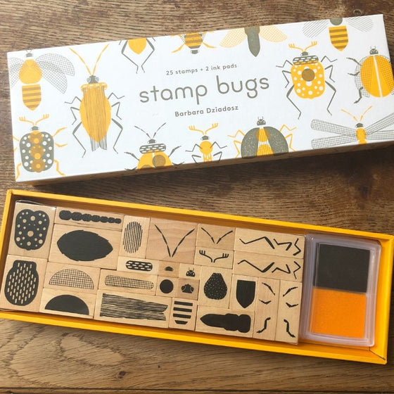 Stamp Bugs Rubber Stamp Set