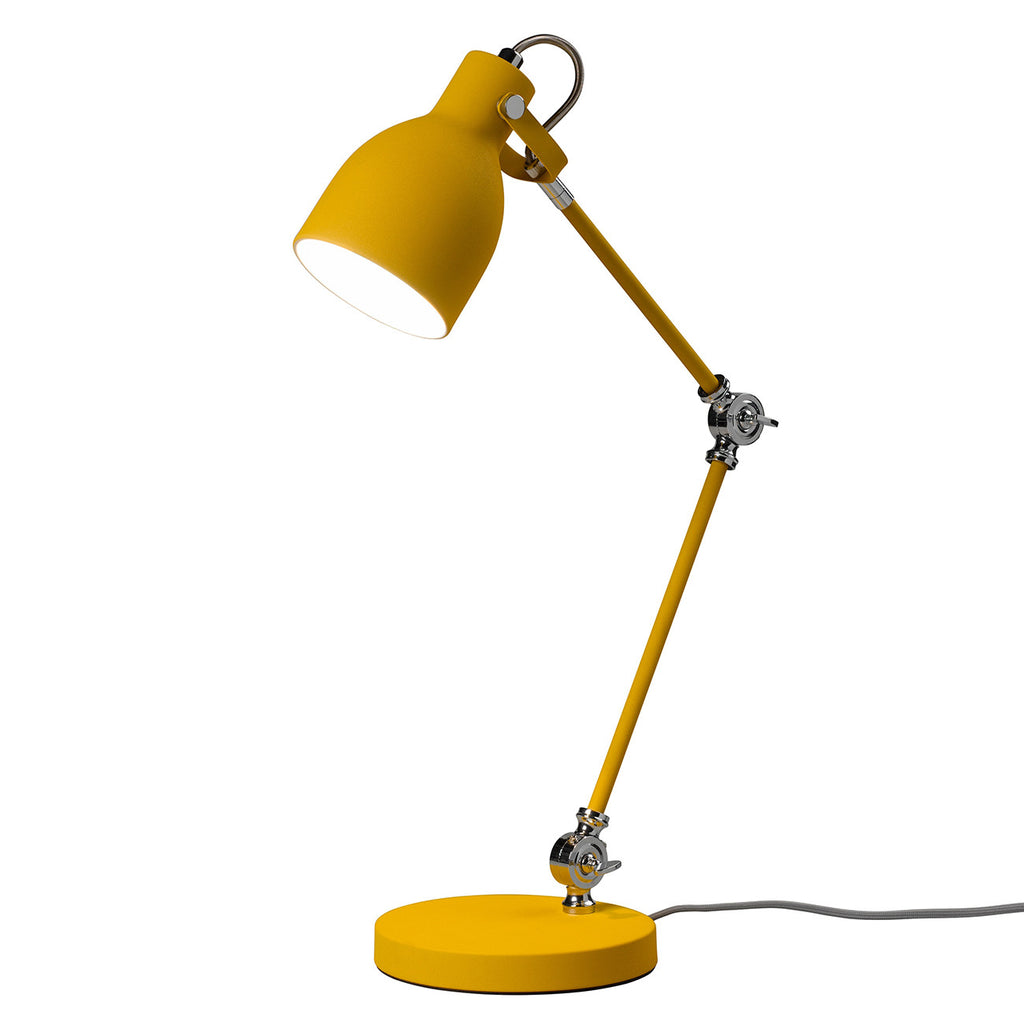 Task Lamp in Mustard Yellow