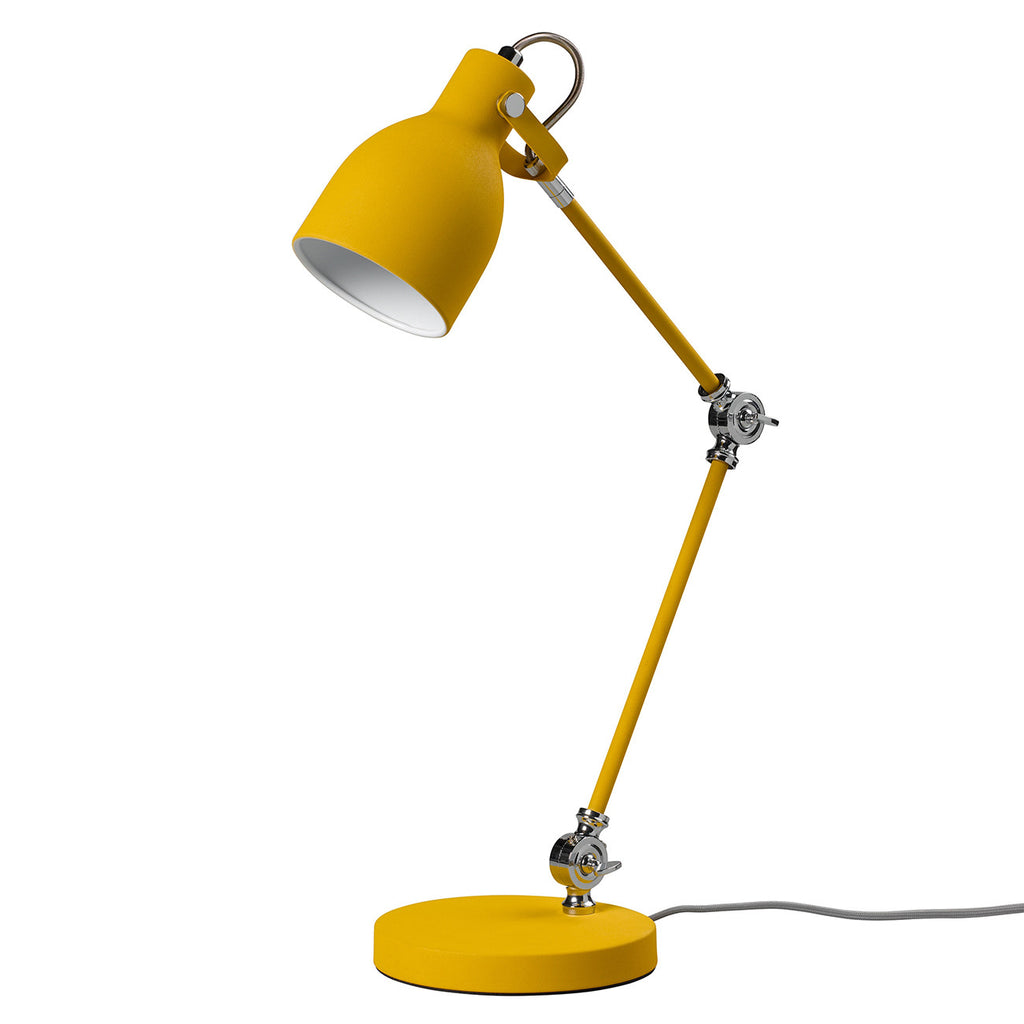 Task Lamp in Mustard Yellow matt finish