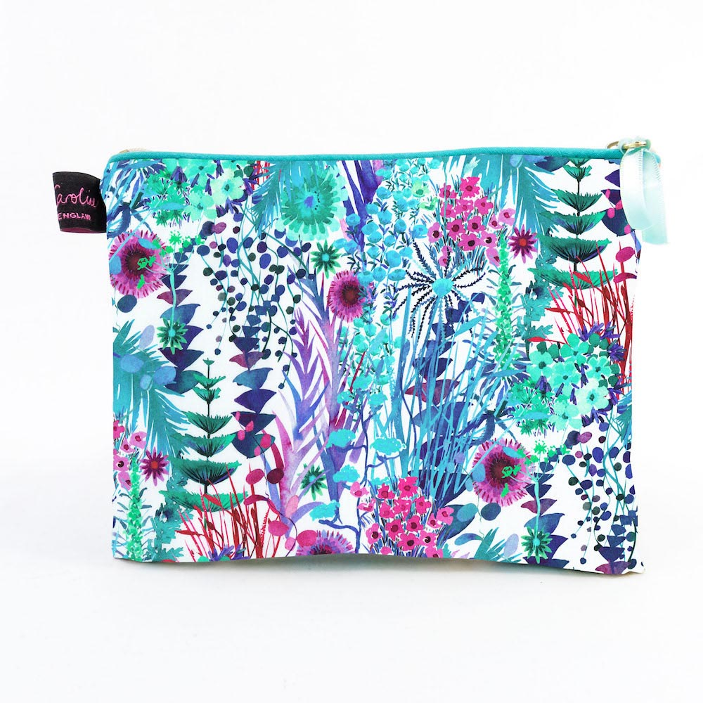 Liberty Travel Pouch in Tresco Aqua