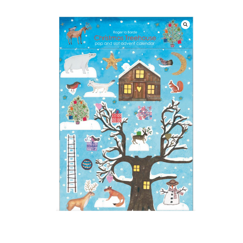 Tree House Christmas Pop and Slot Calendar