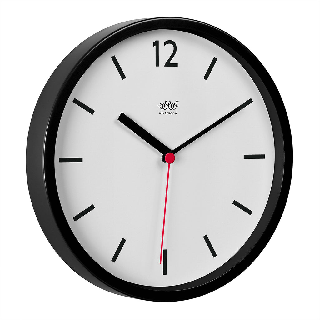 Retro Wall clock in Black and White