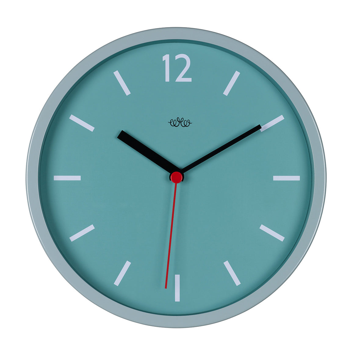 French Blue Retro Wall Clock