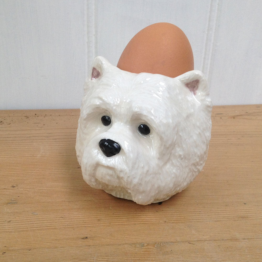 West Highland Terrier Egg cup