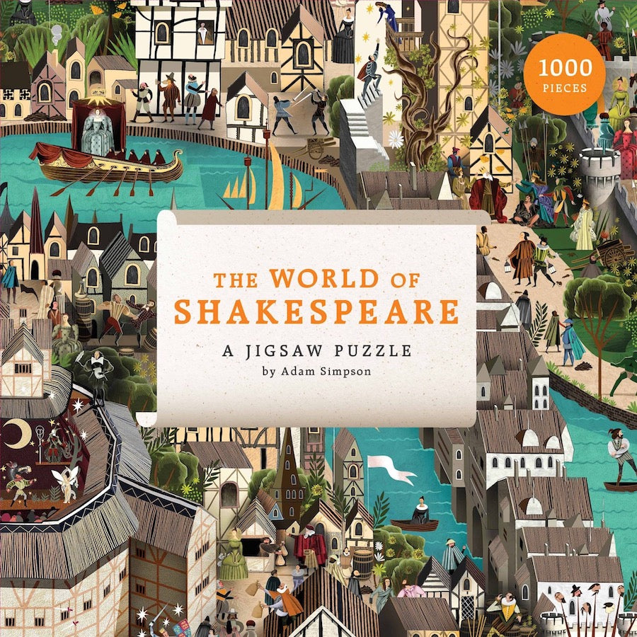 Shakespeare 100 piece jigsaw puzzle