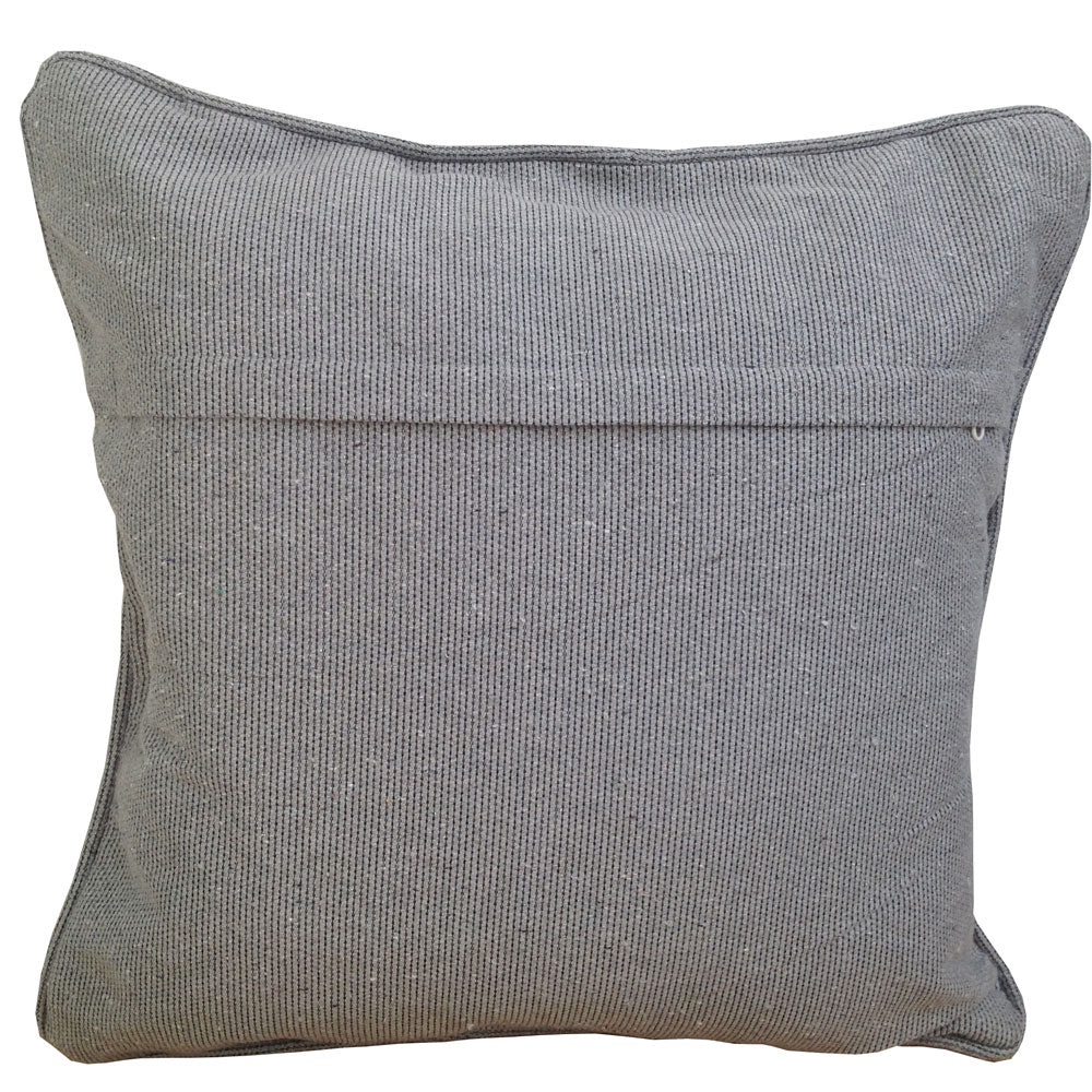 Grey Zig Zag cushion
