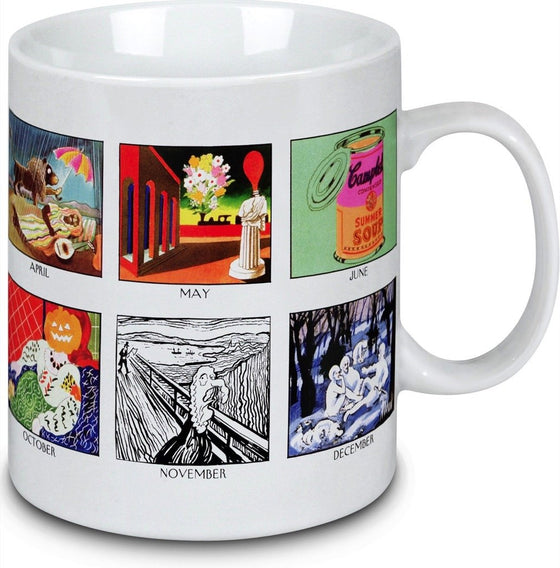 A Year of Fine Art Mug