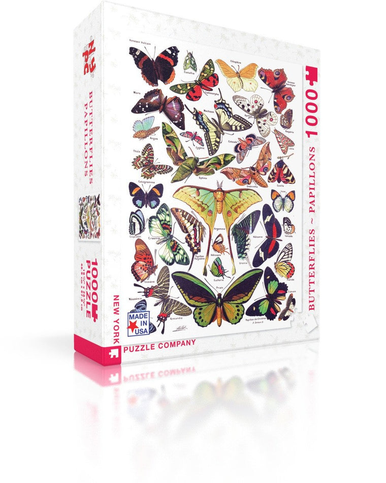 Butterflies- 1000  piece jigsaw