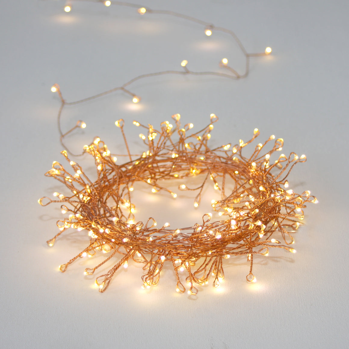 Copper Cluster Lights 3 metres
