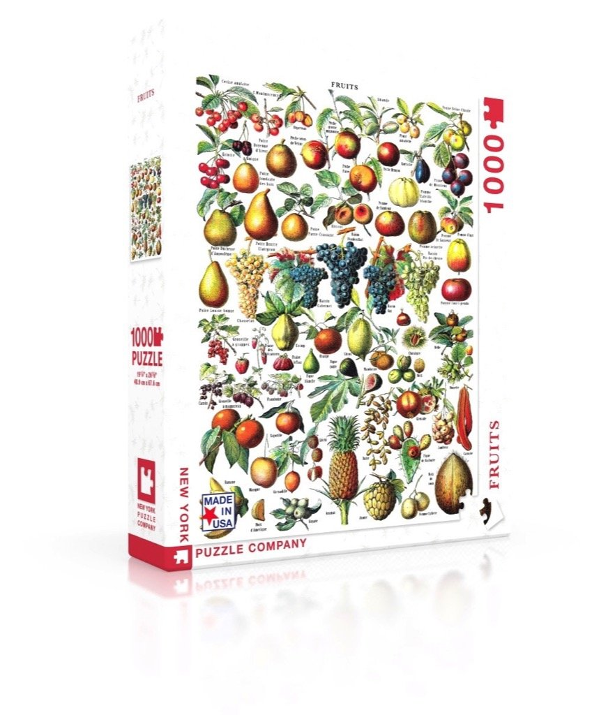 100 piece fruit jigsaw puzzle