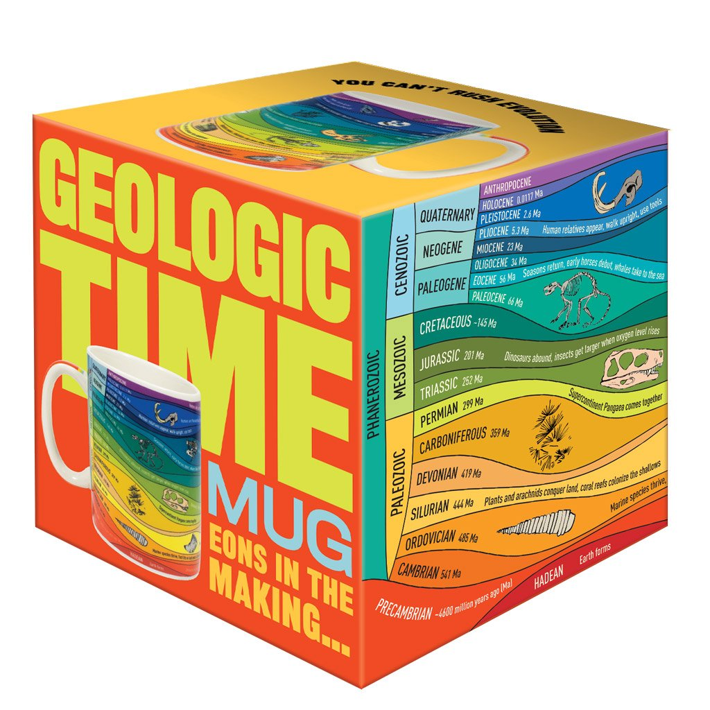 Geological time Mug from Red Hen Trading