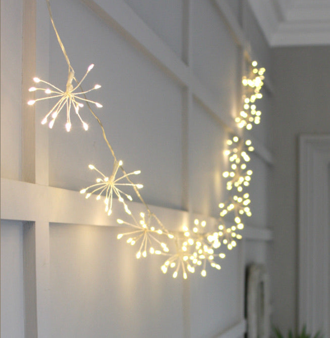 Starburst String of Lights- battery