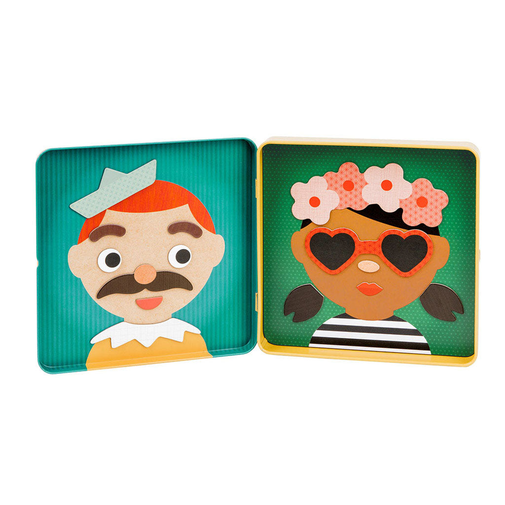 Magnetic Play Set- Funny Faces