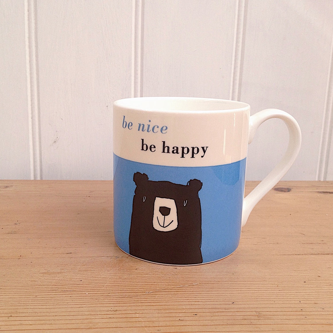 Be Happy Bear Mug-L