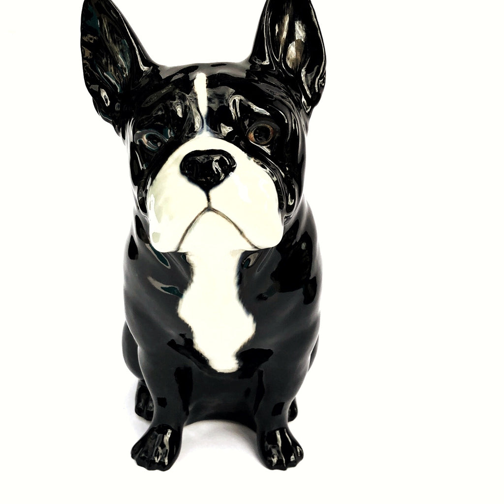 French Bulldog Vase