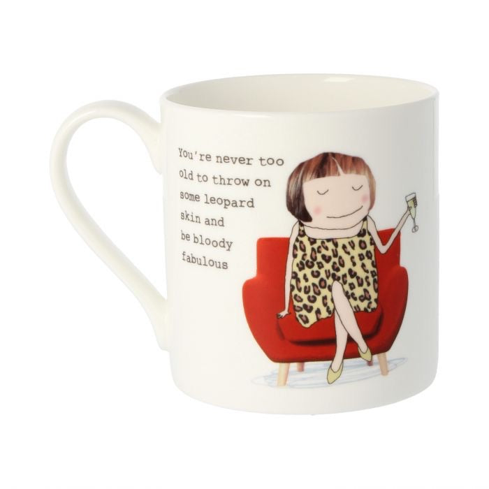 You're never too old mug