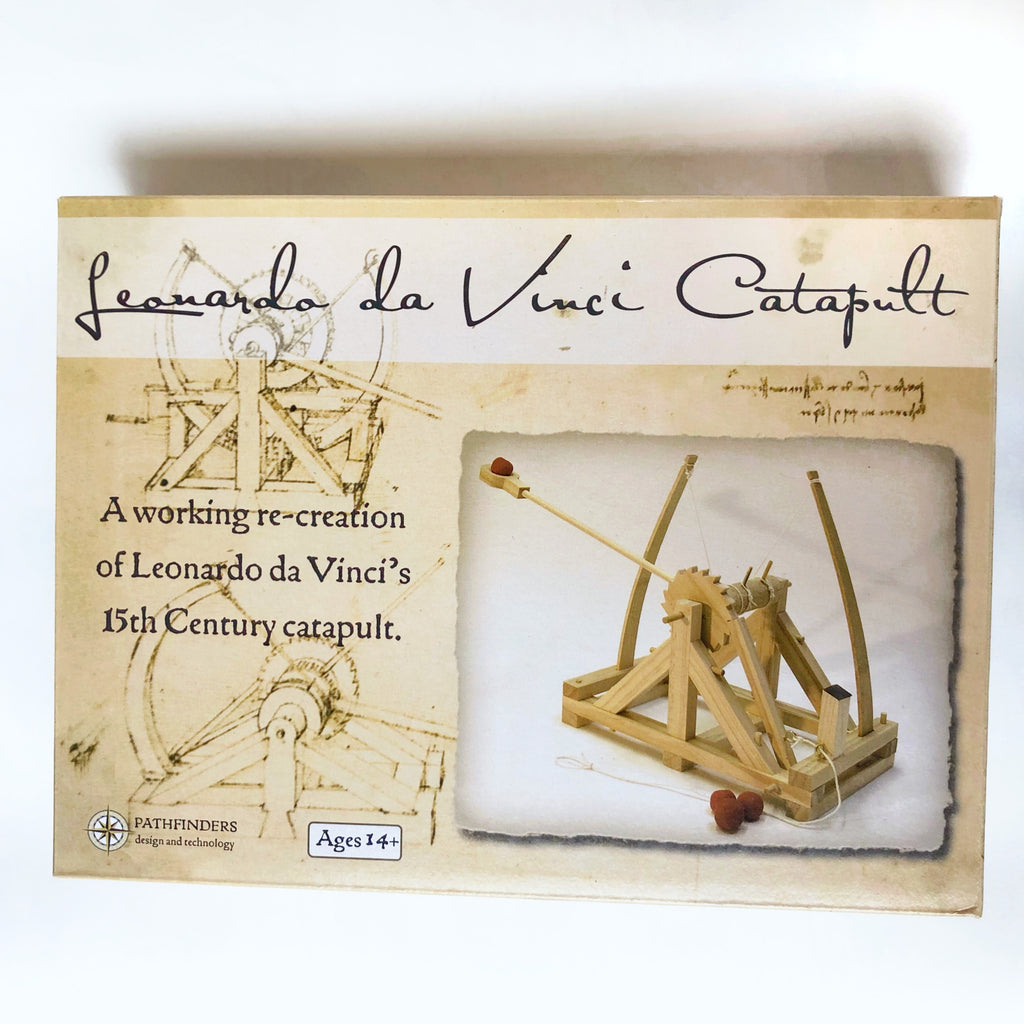 Make your own Leonardo Da Vinci Catapult